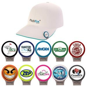 Pitchfix Hat Clip w/ Ball Marker