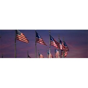2 Ply Spun Polyester Outdoor United States Flag (30'x 50')