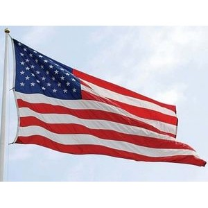 Nylon Colorfast Outdoor United States Flag (30'x 60')