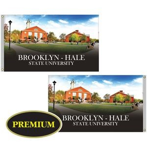 3' x 5' Double Sided Digitally Printed Knitted Polyester Flags